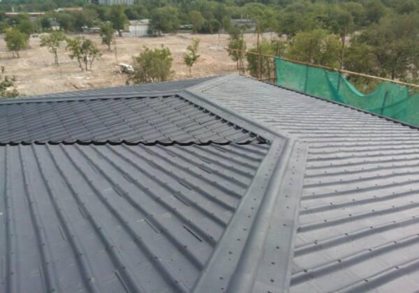 Remate de cumbrera y limatesa teja asfáltica Onduvilla verde