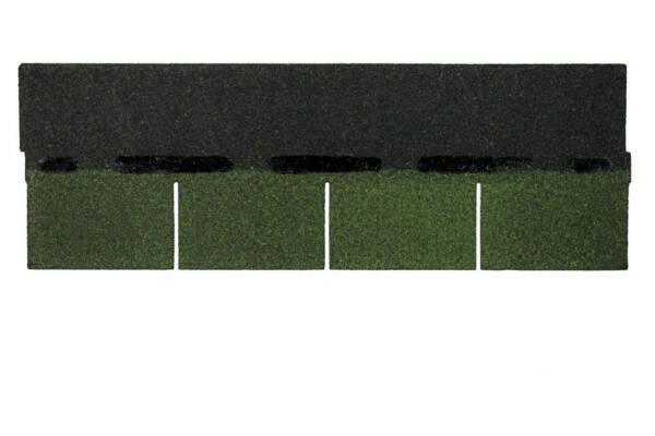 tegola americana bardoline rectangular color verde