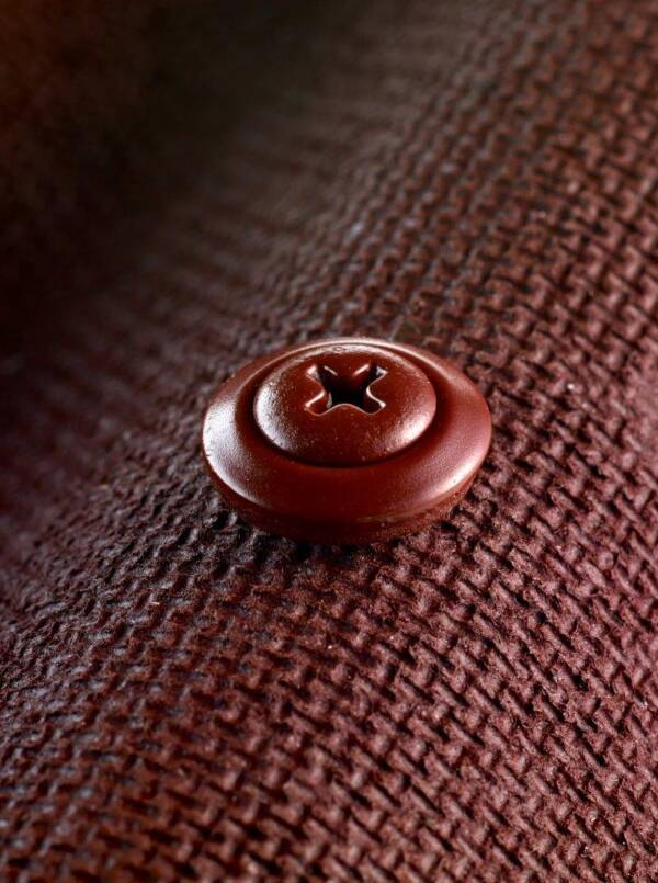 Tornillo Onduline para fijación de teja y placa bituminosa Roja