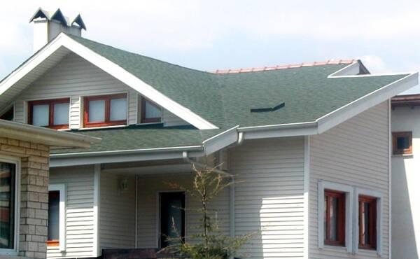 Tegola americana BARDOLINE rectangular verde vivienda