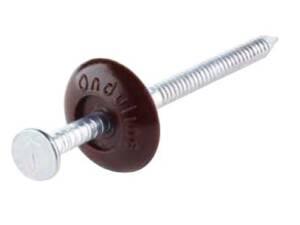 Clavo Resist Onduline para fijación de placa asfáltica en madera
