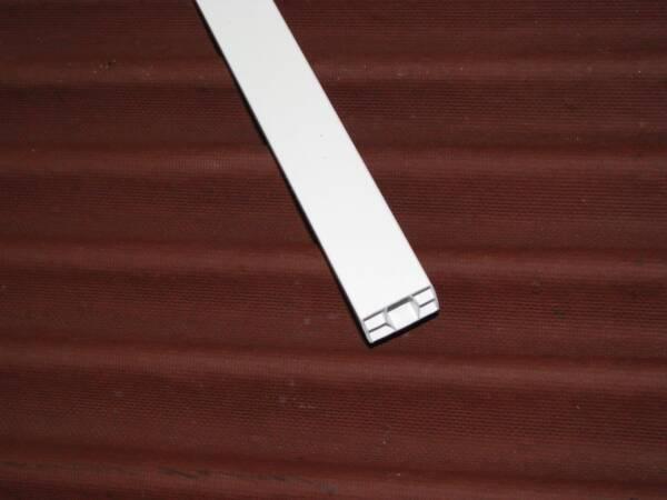 Listón PVC Onduline: detalle listón 2x3