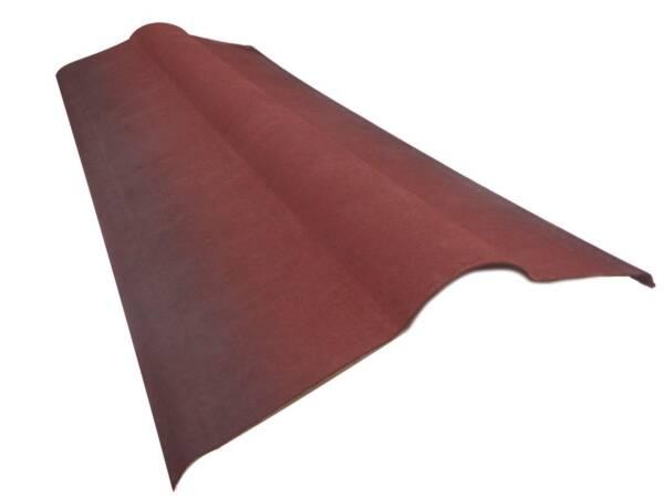 Cumbrera para placa asfáltica ONDULINE TILE Roja